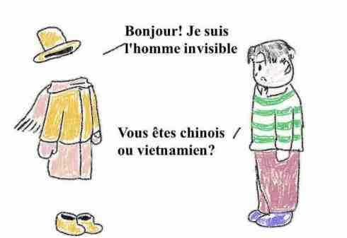 homme invisible asiatique chinois vietnamien minorité silencieuse