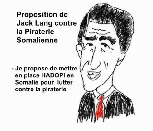 Jack Lang pirate HADOPI Somalie