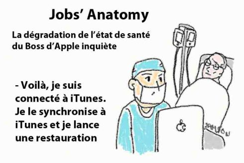 restauration itunes iPad iPhone iPod Apple iTunes cancer brouillon