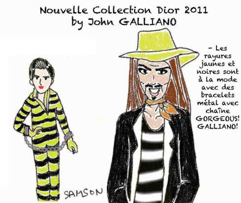 John Galliano Dior Luxe accusé d'insultes racistes