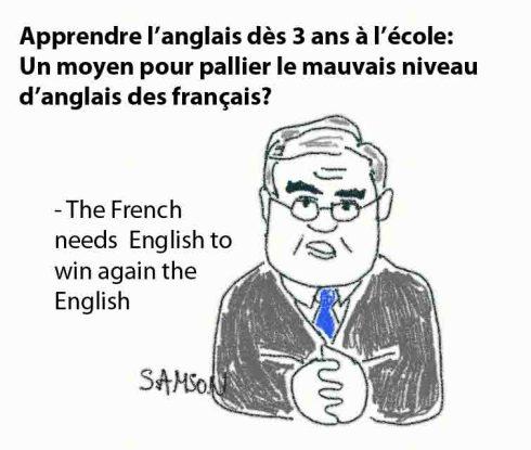 Luc Chatel devrait s'interesser à l'anglais de Jean-Pierre Raffarin