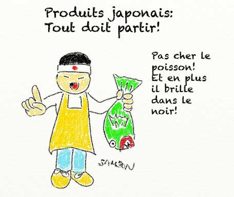 japon nucléaire exportation poisson radioactif