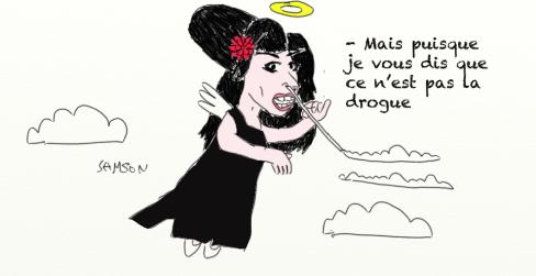 Amy Winehouse caricature décès hommage soul drogue