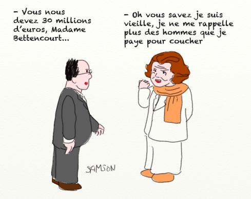 Lilianne Bettencourt riche L'Oréal redressement fiscal