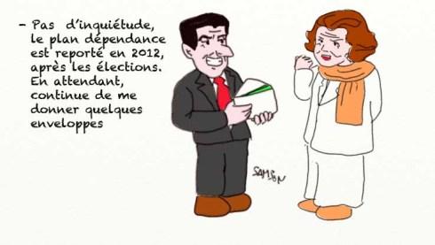 Bettencourt financement L'Oréal Sarkozy UMP