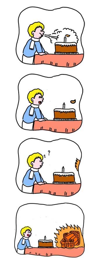 gateau anniversaire bougie 1 an