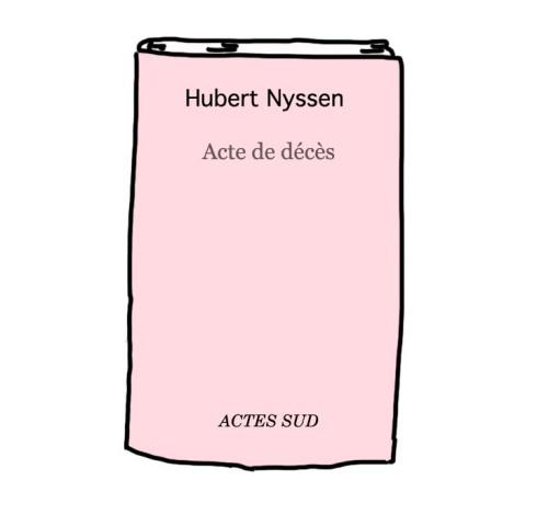 livre acte sud Hubert Nyssen décédé Millénium
