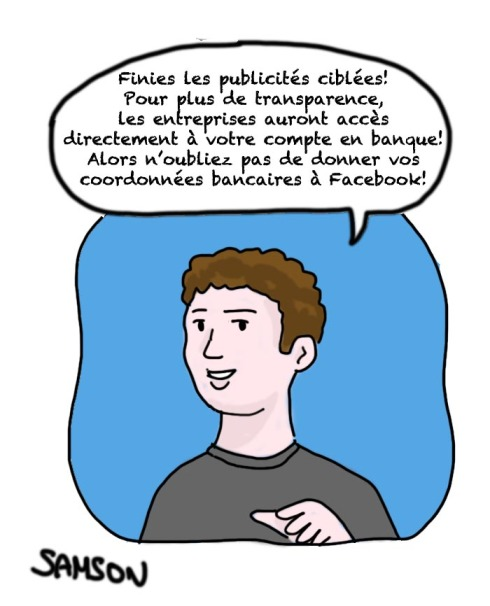 facebook Mark Zuckerberg publicité espionnage coordonnés vie privée