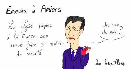Bachar El Assad Syrie Alliot Marie Boulette Amiens Emeutes Dictateur