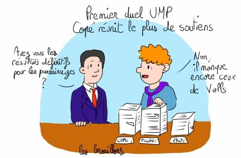parrainages UMP Copé Valls Fillon présidence UMP opposition