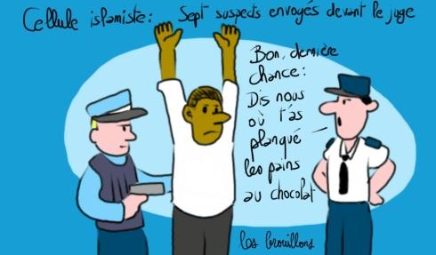 terrorisme et pain au chocolat copé