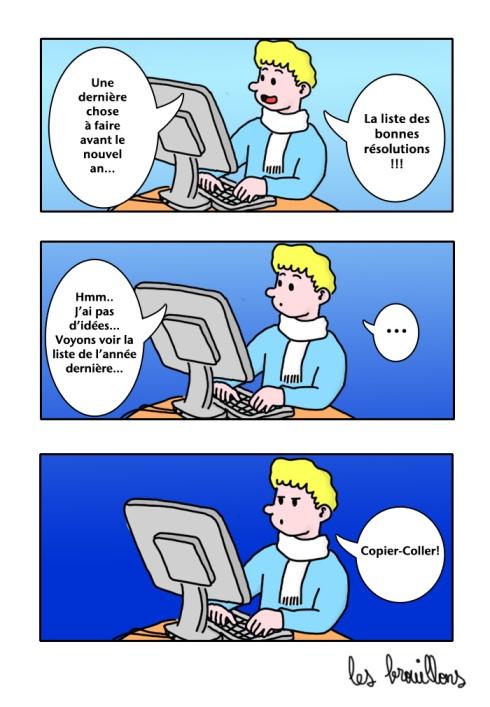 bonnes resolutions 2013 PC