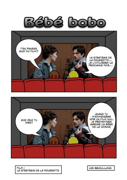 Cinéma la stratégie de la poussette