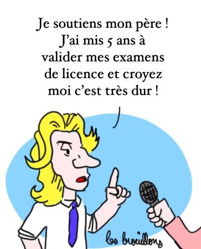 Mise en examen Nicolas Sarkozy caricature