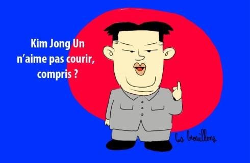 kim jong coupable des attentats de Boston corée du sud etats unis caricature explosion guerre nucléaire