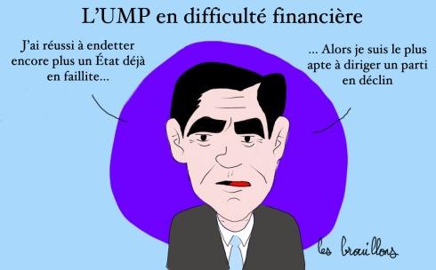 Fillon faillite UMP