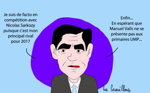 Fillon JDD Sarkozy Valls UMP droite