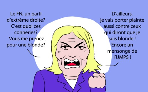 Marine Le Pen le FN extreme droite plainte poursuite en justice