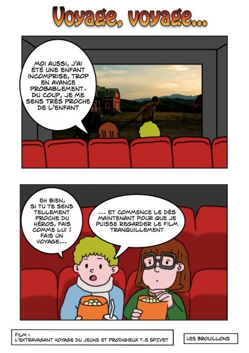 L'Extravagant voyage du jeune et prodigieux T.S. Spivet film français 3D