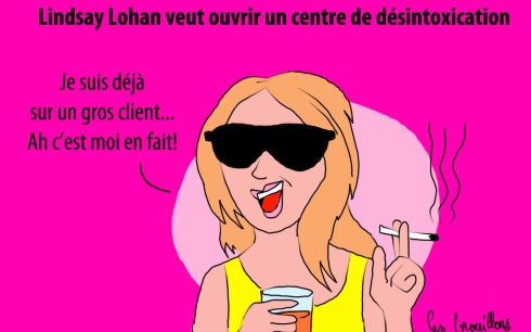 Lindsay lohan desintox cure drogue alcool