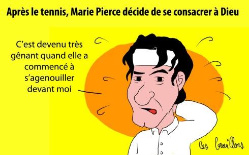 marie Pierce- Roger Federer - Dieu