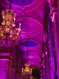 Ambiance très rose à l'Hôtel de ville