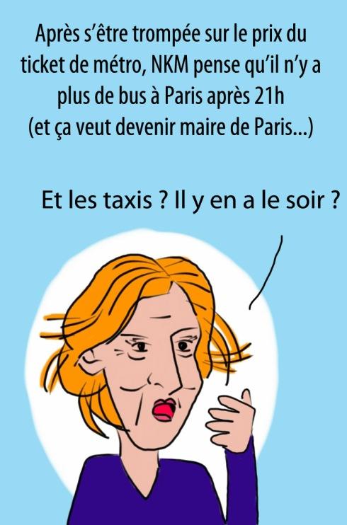 NKM transport mairie de paris ump municipales