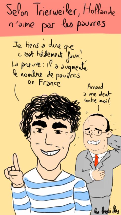 Montebourg défend Hollande face à trierweiler