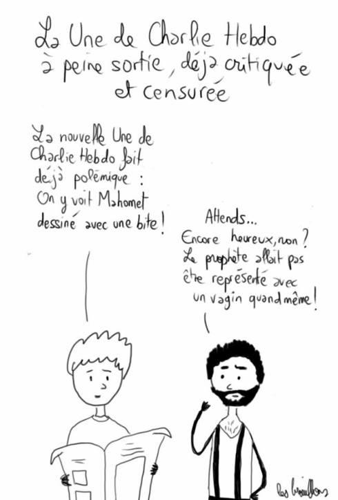 charlie Hebdo mahomet
