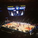 Un match de basket au Madison Square Garden