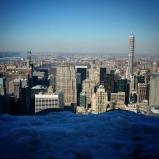 la ville de New York vue en hauteur