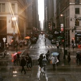 New York sous la pluie