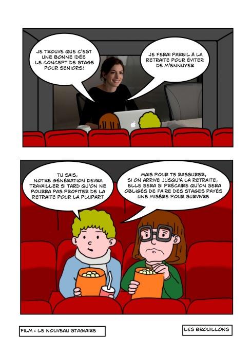 Le nouveau stagiaire film dessin