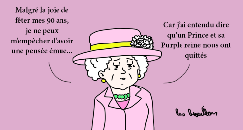 Elisabeth II rend hommage à Prince
